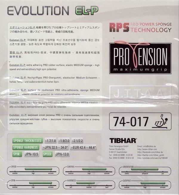 tibhar_evolution_el-p-caracteristicas
